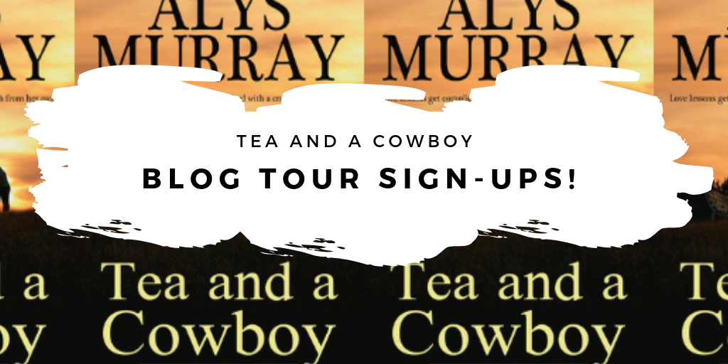 TEA AND A COWBOY Blog Tour Announcement!